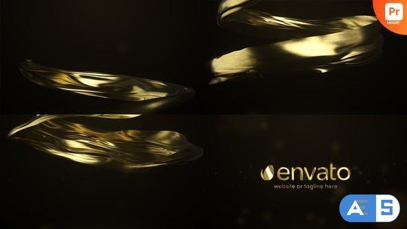 Videohive Gold Premium Logo Reveal for Premiere Pro 34299557