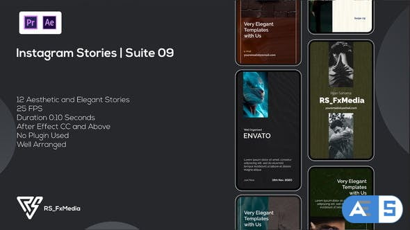Videohive Instagram Stories   Minimal Floor   Suite 09   MOGRT 34342894