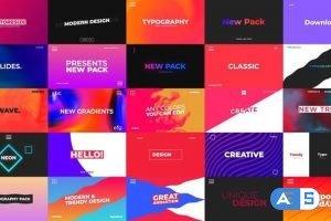 Videohive Wave – 25 Typography Scenes 26048422
