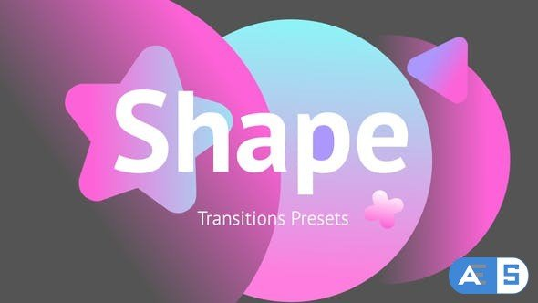 Videohive Shape Transitions Presets 34181026