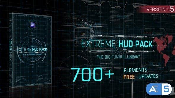Videohive Extreme HUD Pack V1.5 28985545