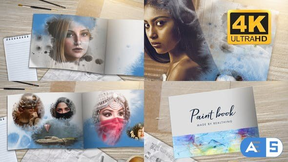 Videohive Paint Book 23753455