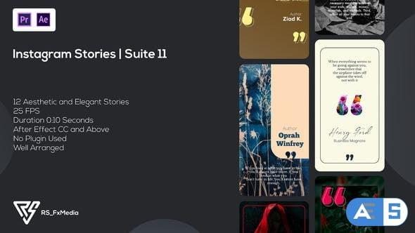 Videohive Instagram Stories | Quotes | Suite 11 | MOGRT 34419229
