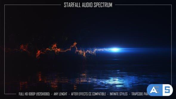 Videohive Starfall Audio Spectrum 34061303