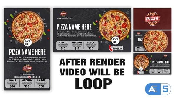 Videohive Pizza Restaurant Bar Menu 33841744