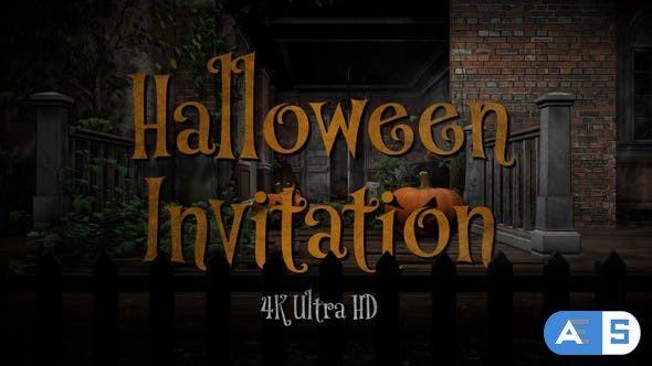 Videohive Halloween Party Invitation 34145976