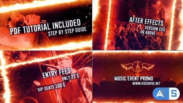 Videohive Music Event Promo 21108545