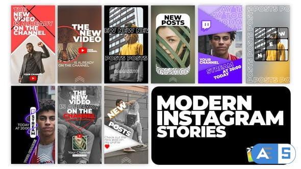 Videohive Modern Instagram Stories 34425475