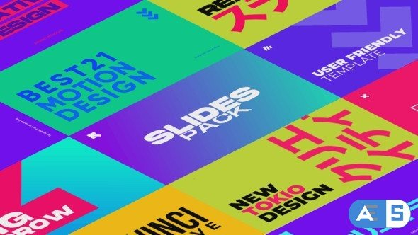 Videohive Colorful Slides | After Effects 34337848