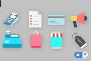 Videohive Shopping Icons Pack 34094929