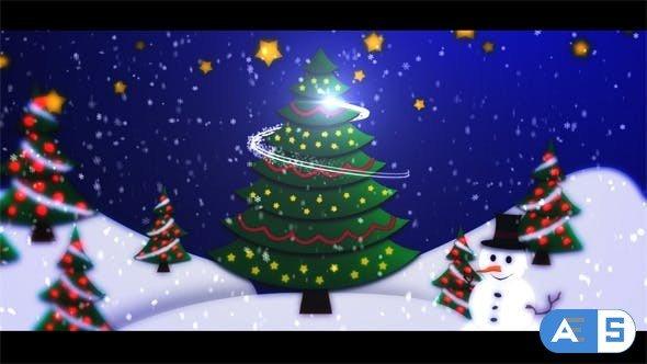 Videohive Christmas Intro Opener 6252840