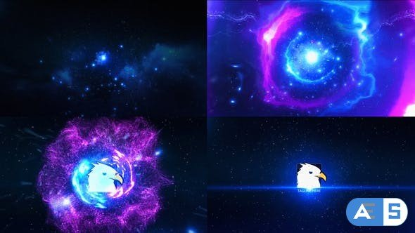 Videohive Space Explosion Logo Opener 16085414