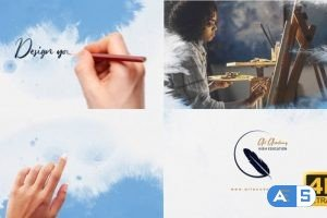 Videohive Fast Message With Logo 23869265
